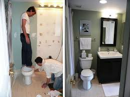 cute small bathroom remodels before and after get inspired by