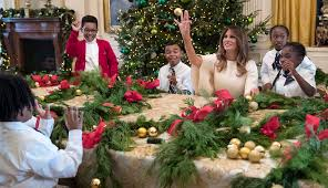 white house u0027s holiday display includes 53 christmas trees and