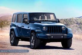 rubicon jeep colors 2018 jeep wrangler looks ready to rock in latest renderings