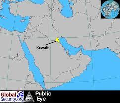 kuwait on a map kuwait international airport satellite imagery