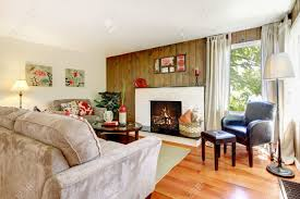 Beautiful Livingroom Artistic Beautiful Living Room With Fireplace And Wood Wall With
