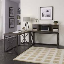 L Shaped Writing Desk Home Styles Xcel L Shaped Writing Desk In Copper 5079 1527