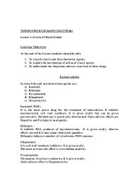 48 pharmacology lecture outlines week 06 blood module sem mbbs 2013 u2026