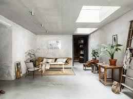 home interior wall pictures concrete walls interior trend in a scandinavian home tour