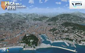 French Riviera Map Vfr Regional French Riviera Vol 1 Aerosoft Shop