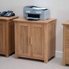 Modern Oak Furniture Printer Storage Cupboard Best Home Furniture Decoration