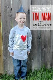 Blue Man Halloween Costume Easy Tin Man Costume Tutorial Tin Man Costumes Tin Man