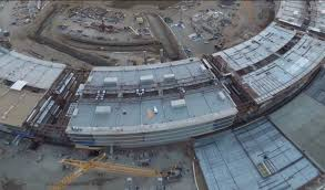 jaw dropping scale of apple u0027s spaceship campus revealed in new
