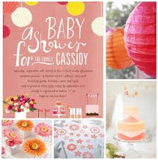 coral baby shower coral baby shower inspiration board my practical baby shower guide