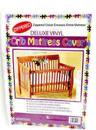 Vinyl Crib Mattress Vinyl Crib Mattress Cover Keeps Bed Bugs Mites Out Standard Size