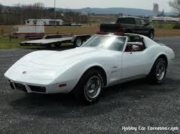 75 stingray corvette 1975 white corvette stingray t top int