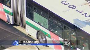 2 injured as ac transit in oakland is sprayed with gunfire
