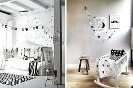 deco de chambre noir et blanc chambre enfant dacco en noir et blanc le monde de sioux chambre