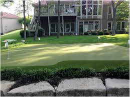 Diy Backyard Putting Green by Backyards Excellent Putting Green With Bunker 102 Simple