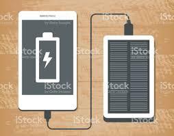 le bureau solaire illustration vectorielle de banque de lénergie solaire recharge un