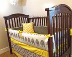 giraffe crib bedding etsy