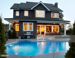 house with pool canada columbia surrey back yard of house with pool at