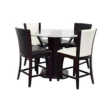 dining room pub tables kitchen table dining table chairs 3 piece pub table set round