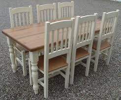 shabby chic dining table sets chair impressive farmhouse dining tables and chairs shabby chic
