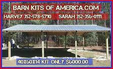 Steel Pole Barn Pole Barn Kits Construction Ebay