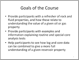 2 day course understanding oil reservoirs reservoir