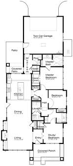 narrow lot house plans with rear garage prairie style house plan 3 beds 2 50 baths 1851 sq ft plan 434 12