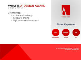 corporate design award a design award competitions corporate presentation 01 01 ppt