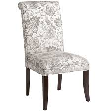 angela silver leaves dining chair pier 1 imports