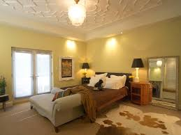 bedroom stunning bedroom ceiling for beautiful decoration 32 of yellow bedroom with textured tray ceiling and cowhide rug photo 32 of 32