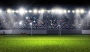 how tall are football stadium lights football stadium in lights stock image image of play 72681073
