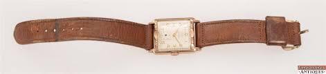 vintage swiss helbros 17j model 124 wrist watch 10k gold filled
