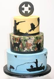 camoflauge cake fishing theme 50th birthday camouflage cake cakes bakes