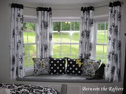 creative bay window curtain ideas following unique article large size stunning curtains for bow windows pictures ideas