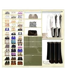 shoe shelves for closets custom closet shoe storage drawers and