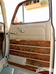 1951 chevrolet panel truck interior door panel