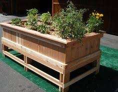 Corrugated Metal Planters by Elevated Portable Planter Box Crafty And Creative Pinterest