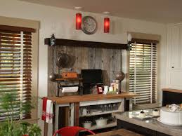 rustic kitchen house design with coffee station and diy table with