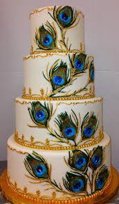 Peacock Themed Wedding Wedding Cakes Peacock Wedding Cake Pics Amazing Peacock Wedding