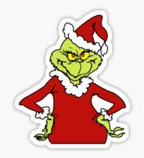 christmas stickers grinch christmas stickers redbubble