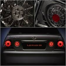 2003 lexus is300 headlights lexus is300 2001 2005 smoked led lights and trunk lights