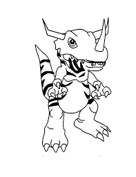 7 digimon coloring pages images digimon