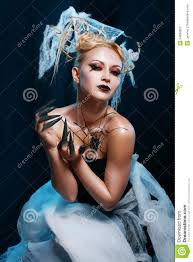 spider queen costume stock photography image 34698502