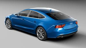 audi a7 modified audi a7 sportback 2017 by korneelov 3docean