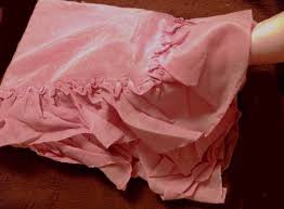Pink Ruffle Curtains Panels by Curtains Shabby Chic Ruffled Window Curtain Panel Best Pink