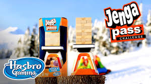Challenge Commercial Jenga Pass Challenge Commercial Hasbro Gaming