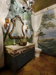 Best Powder Rooms Images On Pinterest Room Bathroom Ideas - Powder room bathroom