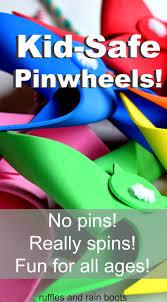 safe pinwheel tutorial diy