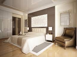 cozy wooden flooring bedroom design with fancy chandelier in