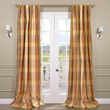 shop genoa silk taffeta plaid curtains drapes