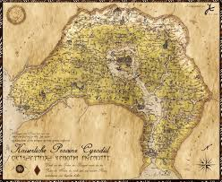 Elder Scrolls Map Map Of Tamriel For The Elder Scrolls Online Video Game I U0027m A